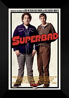 """SUPERBAD Movie Poster 27x40/"""" Theater Size Jonah Hill Licensed-NEW-USA"""