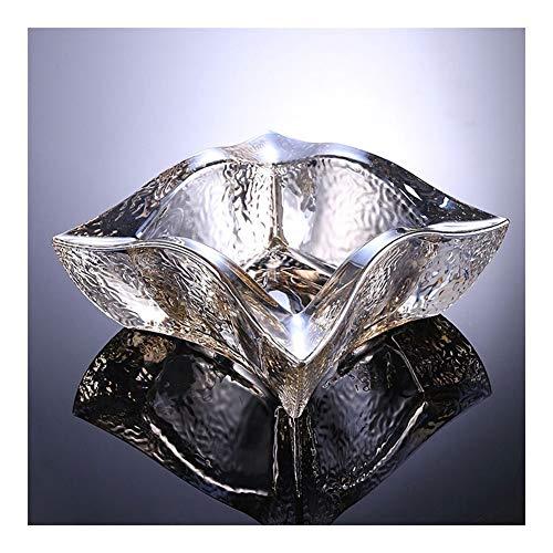 Creatieve transparante multifunctionele kristallen glazen asbak geschikt voor kantoor woonkamer hotel-fijne afwerking D