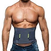 BERTER Lower Back Brace, Lumbar Support Belt Men Women Back Brace with Adjustable Waist Straps for Back Pain Relief Herniated Disc, Sciatica, Scoliosis