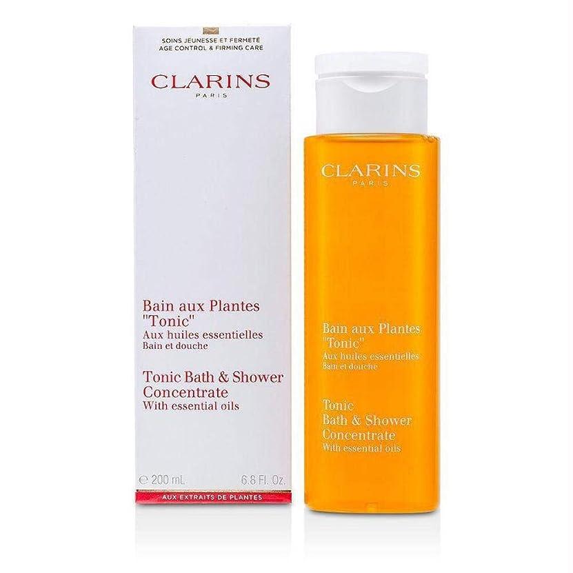 ラオス人予報傘Clarins Tonic Bath and Shower Concentrate 200ml