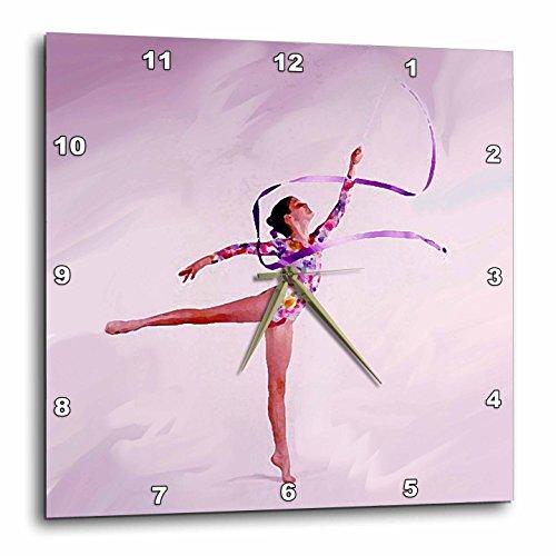3drose DPP 3130 3 gymnastiekbal oefening wandklok, 15 van 15 inch