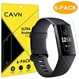 CAVN Fitbit Charge 3 / Charge 3 Special Edition Pellicola Protettiva [6 Pack], Ultra Clear...