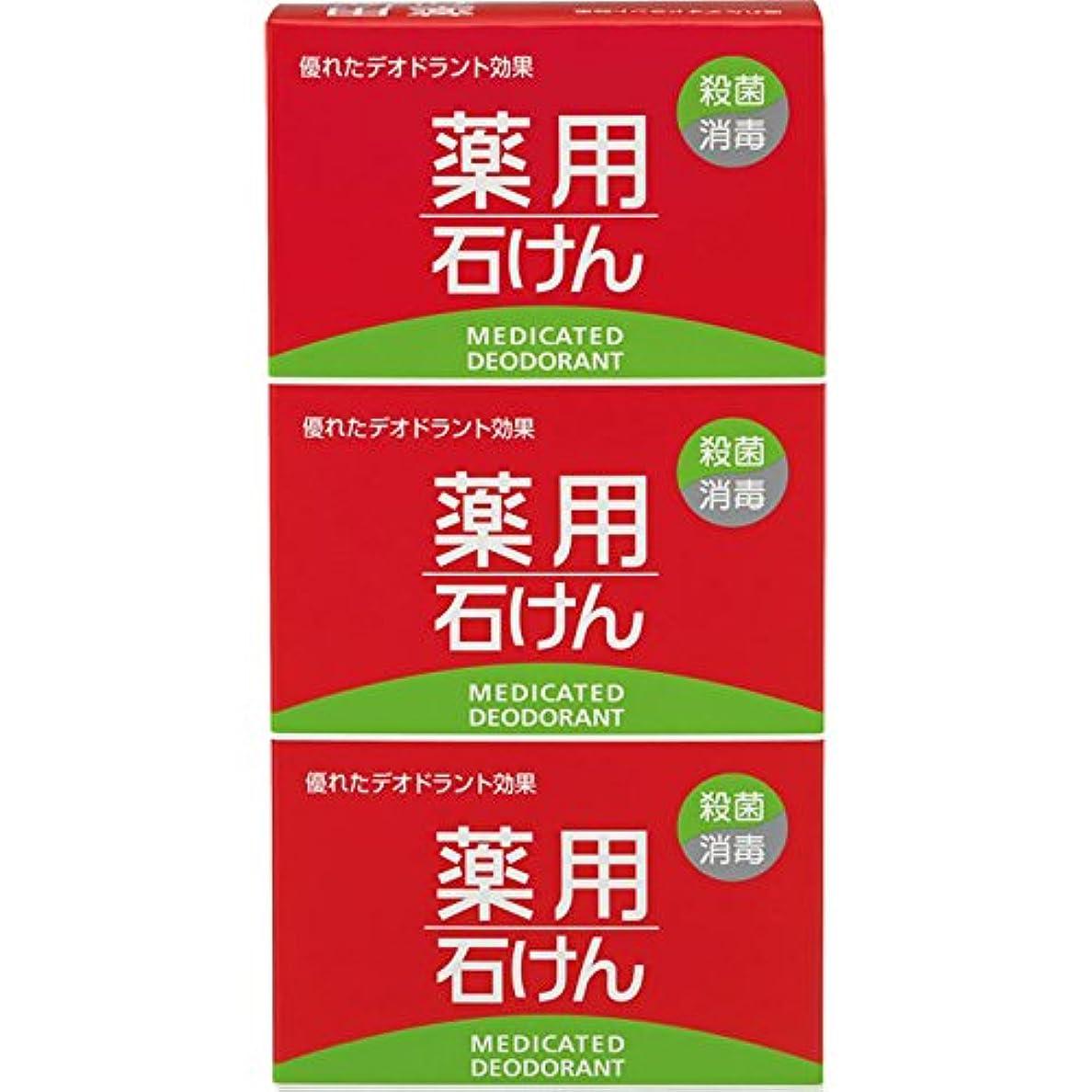 爆発ストリーム糸熊野油脂 薬用石けん 100g×3個 (医薬部外品)
