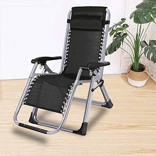 FF Chaise Longue inclinable de Salon, Chaise Longue résistante à gravité zéro, Chaise de Plage inclinable Pliable en Plein air pour Patio, Jardin, Camping, Piscine, Support 330 lbs