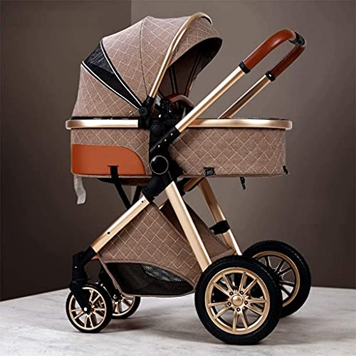 Yuansr Light Strollers,Baby Strollers,high-Performance Strollers,Luxury Strollers,Aluminum Strollers,Compact Folding Strollers,Basket Strollers (Color : C)