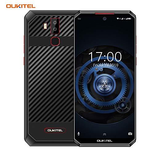 [11,000 mAh Akku 30W Schnellladung] OUKITEL K13 Pro Dual 4G Handy ohne Vertrag, 6,41 Zoll FHD+ Smartphone Android 9.0, Octa Core 4GB RAM 64GB ROM, 16MP Kamera, NFC OTG Gesichtserkennung -Schwarz