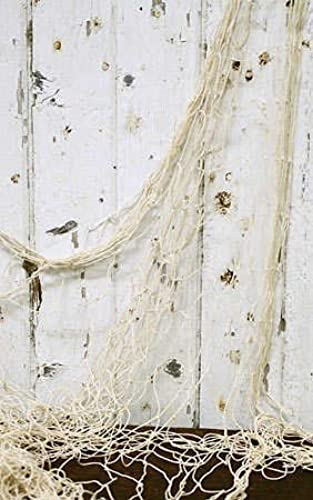 Decorative Natural Nautical Fishing Net - 5 Ft X 14 Ft (3 pack) by Grindatti