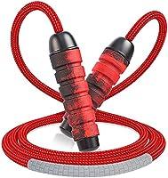Cocoda Corde à Sauter Sport, Jump Rope Réglable sans Enchevêtrement avec Roulements à Billes Rapides, Poignée...