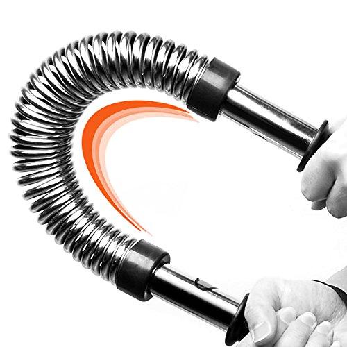 WEYON Biegehantel Königsfeder Fitnessgeräte für Arm Training Power Twister Fitness Training Spannfeder 40kg