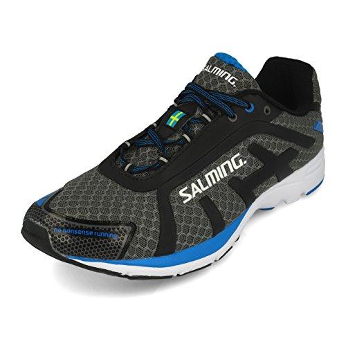 Salming - Zapatillas de Running de Tela, sintético para Hombre Gris Gris, Color Gris, Talla 45 EU