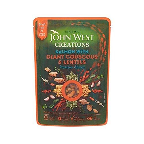 John West Creazioni Harissa 180G Di Salmone - Confezione da 6