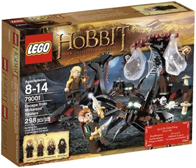 LEGO Hobbit 79001 Escape from Mirkwood Spiders