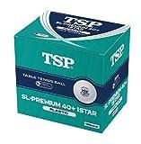 TSP (ティーエスピー) SL-PREMIUM 40+ 1スター 10ダース入 010048 1706 ホワイト