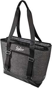Igloo Daytripper Dual Compartment Tote, Gray/Black