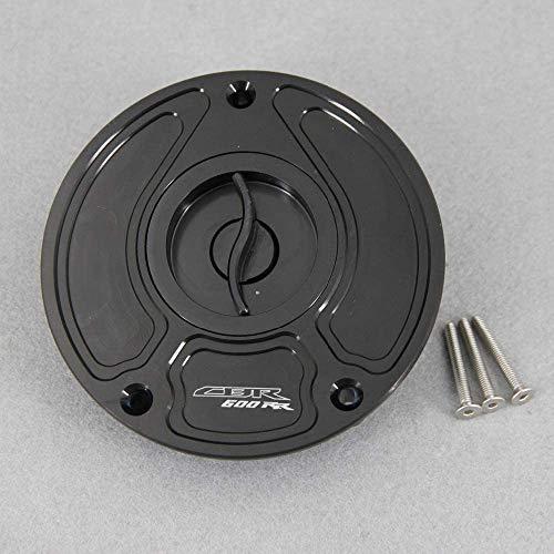 VRDN alta calidad apta para Moto Accesorios CNC de aluminio sin llave for H0NDA CBR600 RR CBR 600 RR CBR600RR 2003 y se incrementaron Accesorios de motos de combustible Tanque de gas Tapa de oro 100%