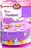 RUF Fondant Lila Rollfondant, Palmfrei, 250 g