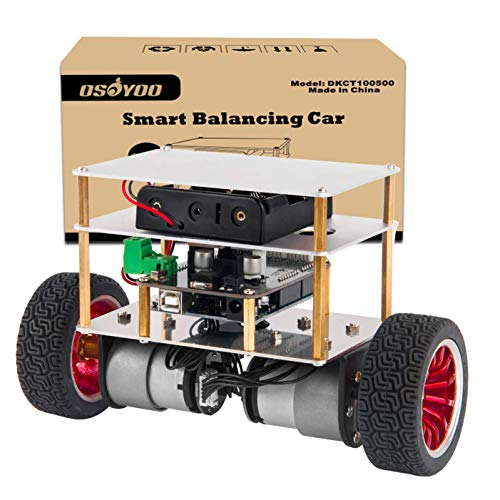 OSOYOO アルデュイーノ UNO R3 二輪自立 ロボット カー プログラミング 教育 スターター キット Android 対応