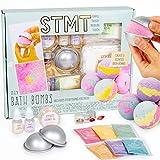 STMT D.I.Y. Bath Bombs Kit by Horizon Group USA, Mix & Mold...