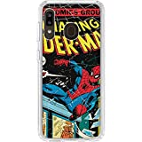 Skinit Clear Phone Case for Galaxy A20 - Officially Licensed Marvel/Disney Marvel Comics Spiderman Design