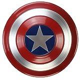 Captain America Shield Full Metal 1: 1 Versione Film Marvel Legends Series Avengers Puntelli Portatili Adulti Bambini Halloween Supereroi Giochi di Ruolo Giocattoli