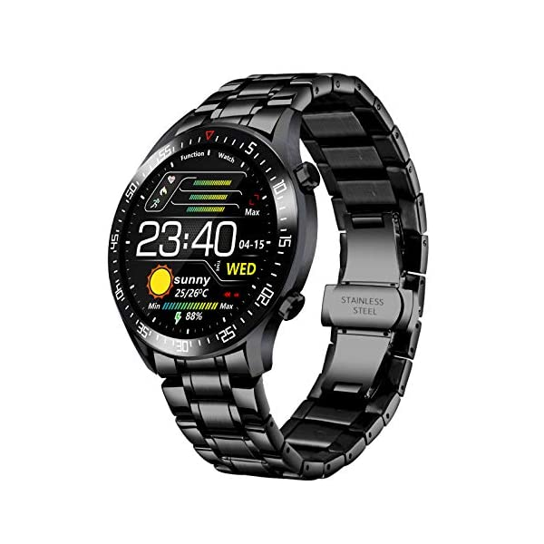 Smart Watch Men, Activity Tracker, 1.4 Inch Large Screen Fitness Watches with GPS...