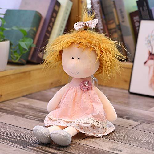 Hunpta @ Karikatur Stoffpuppen Plüsch Spielzeug Süßes Kuscheltier Puppe Stofftier Home Deko Geburtstag Weihnachten Geschenk für Kinder Mädchen