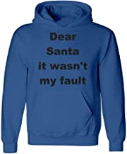 Groovy Gifts For All Christmas Quote - Dear Santa it Wasn't My Fault - Hoodie