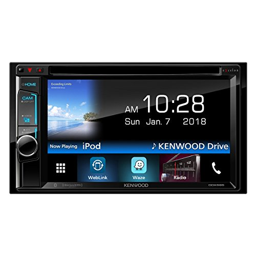 Kenwood DDX595 eXcelon 6.2' DVD Receiver with Bluetooth