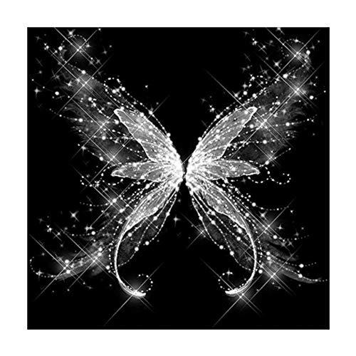 Schmetterling 7131 Quadratische Kunst Malerei DIY handgemachte Diamant Malerei Kreuzstich Indoor Home Wand Stickerei Dekoration-bunt BCVBFGCXVB