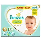 Pampers 81686984 - Pannolino Premium Protection, colore: Bianco