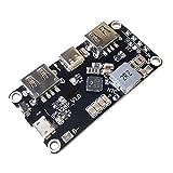 IP5328P Cargador de batería dual USB 18650 tesoro Tpye-c 3.7V a 5V 9V 12V Paso a paso Cargador rápido rápido Placa de circuito QC2.0 QC3.0