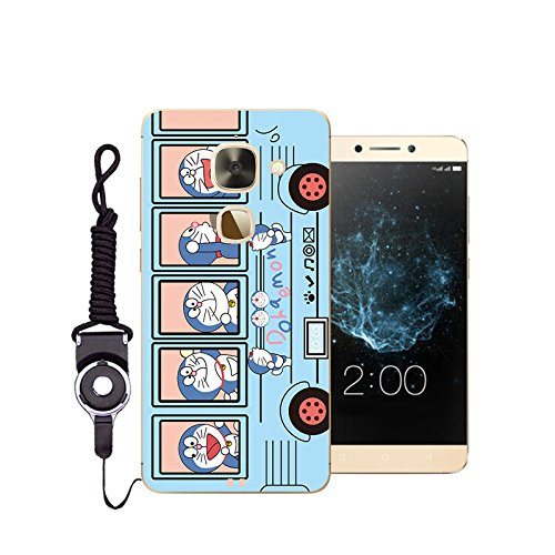 Easbuy Handy Hülle Soft Silikon Hülle Etui Tasche für Leeco Le 2 pro / Leeco Le 2 / X620 Smartphone Cover Handytasche Handyhülle Schutzhülle