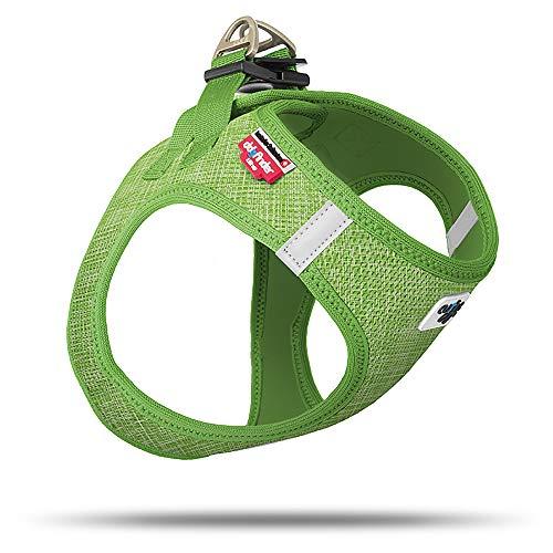 Curli Vest Geschirr Air-Mesh Linen Lime Special Edition SE19 SE-LIM Größe M von mylittledog