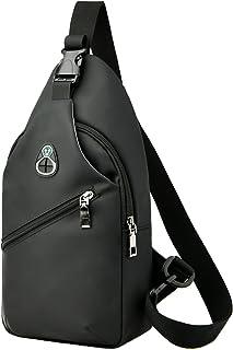 Sling Backpack Sling Bag Crossbody Daypack Casual Backpack Chest Bag Rucksack Water Resistant Hiking Chest Shoulder Bag wi...