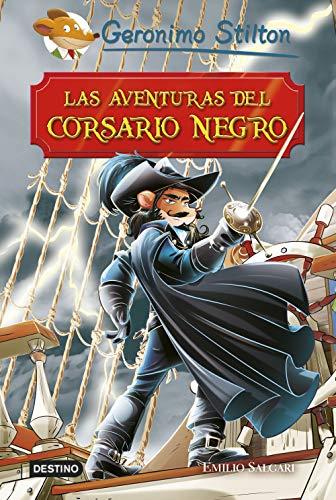 Las aventuras del Corsario Negro (Grandes historias Stilton)