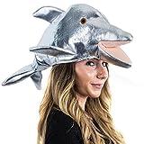 Tigerdoe Dolphin Hat - Dolphin Costume - Animal Hat - Dress Up Hats - Costume Hats