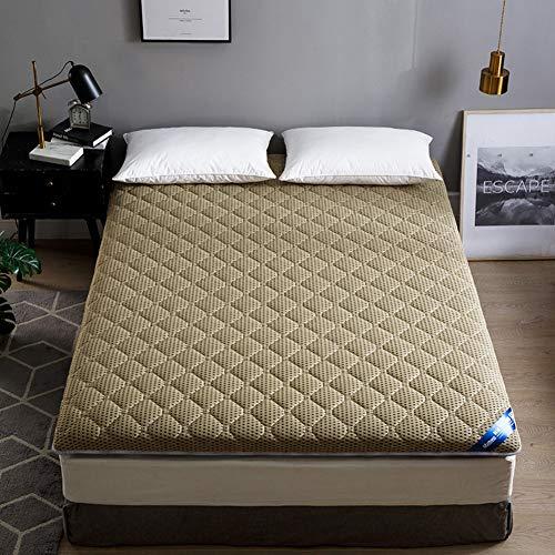 JR%L 4d Atmungsaktive Matratze Tatami, Zuhause Schlafsaal Student Single Dick Schwamm Mat Japaner Futo Schlafen Bodenmatratze-c 120x195x4cm