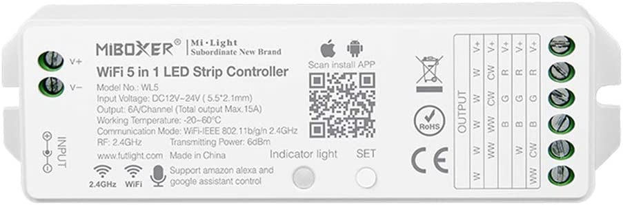 LGIDTECH Miboxer WL5 YL5 VUP LED Strip in Max 63% OFF 1 5 Popular Controller Light