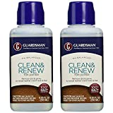 Guardsman Clean & Renew For Leather 8.45 oz - Removes Dirt and Grime, Great For Leather Furniture & Car Interiors - 2 Pack