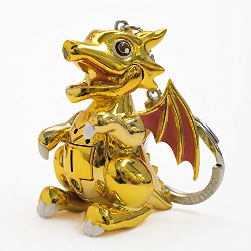パズル&ドラゴンズ ガチャドラ サウンドキーホルダー レアガチャドラ