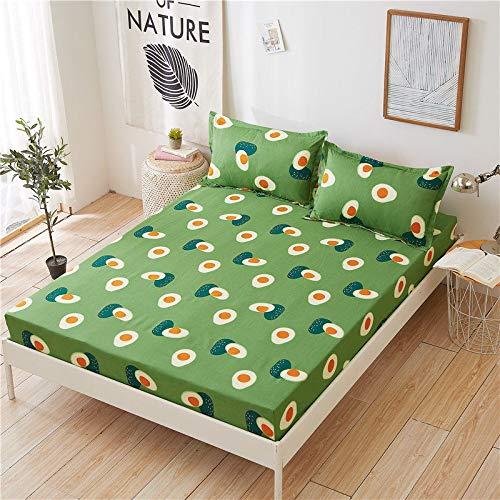 Home Blue Stars Europe - Sábana bajera ajustable con 2 fundas de almohada para adultos, diseño de estrellas azules