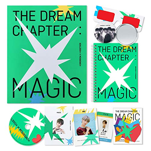 Tomorrow X Together TXT Album - The Dream Chapter : Magic [ SANCTUARY ver. ] CD + Photobook + Student ID Pad + Sticker Pack + Viewer Glasses + Photocards + OFFICIAL POSTER + FREE GIFT