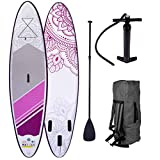 BRAST Stand up Paddle Flower 9'10 20psi 115kg Drop Stitch tissé...