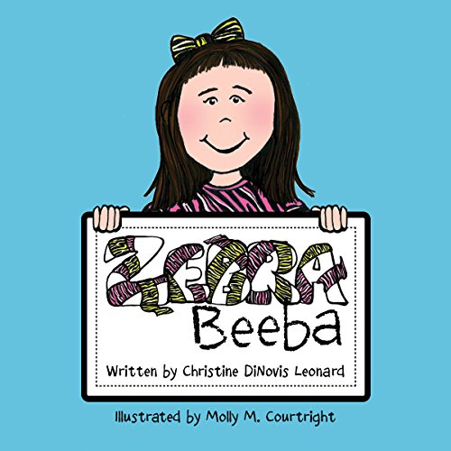 Zebra Beeba audiobook cover art