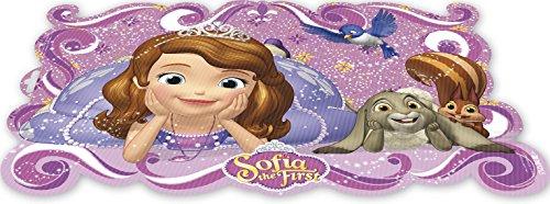 ALMACENESADAN 0425, Mantel Individual Disney Princesas Sofía; Dimensiones 43x29 cms; Producto de plástico; Libre bpa.