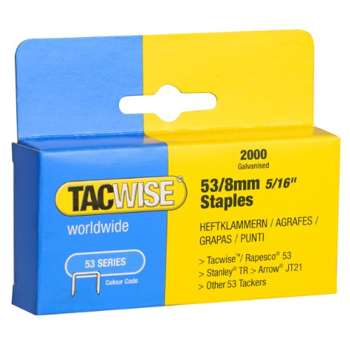 TACWISE 53/8 Staples 8mm (2000)