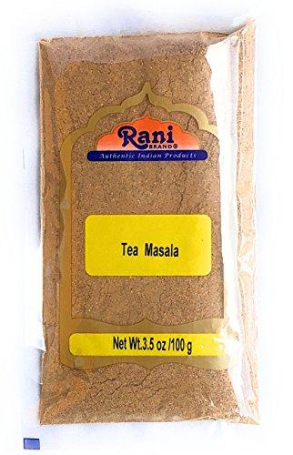 Rani Natural Tea (Chai) Masala 3.5oz (100g) ~ All Natural | Vegan | Gluten Friendly | Salt & Sugar Free | NON-GMO