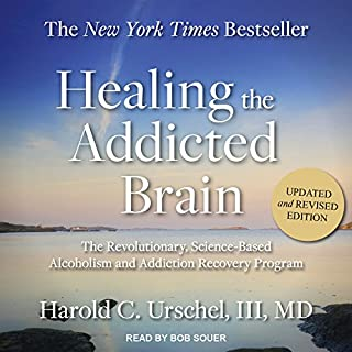 Healing the Addicted Brain audiobook cover art
