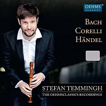 Bach, Corelli & Händel: Works for Recorder