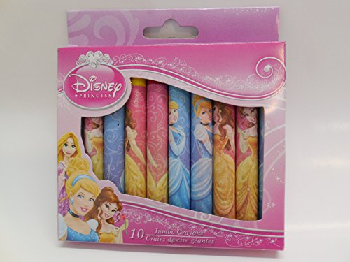 Disney Princess 10 Pack Jumbo Crayons